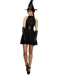 Disfraz bruja negra sexy mujer Halloween