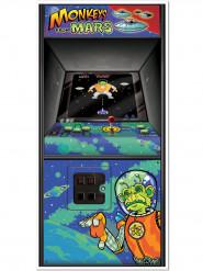 Decoración de purerta Arcade Games años 80