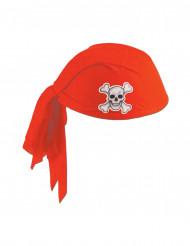 Sombrero pañuelo rojo Pirata adulto