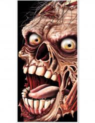 Decoración puerta zombie Halloween