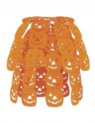 Colgante cascada calabaza Halloween 61 cm