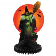 Centro de mesa bruja Halloween