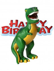 Figura cumpleaños dinosaurio 4x8 cm