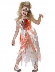 Disfraz zombie princesa niña Halloween