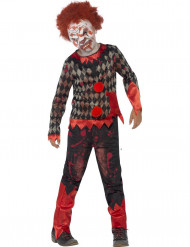 Disfraz zombie payaso niño Halloween