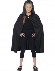 Capa con capucha negra niño Halloween