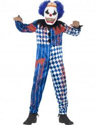 Disfraz Halloween payaso arlequín niño