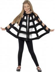 Capa araña negra niño Halloween