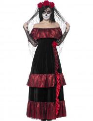 Disfraz Halloween novia mejicana mujer