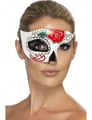 Semi máscara coloroda adulto Halloween