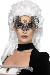 Antifaz telaraña con strass adulto Halloween
