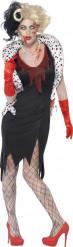 Disfraz zombie dama cruel mujer Halloween