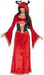 Disfraz reina diabólica mujer Halloween