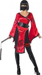 Disfraz guerrero ninja mujer