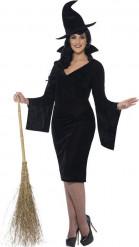 Disfraz bruja negra mujer Halloween