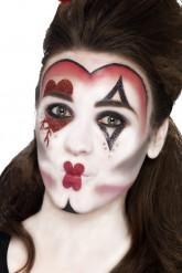 Kit maquillaje reina de corazones adulto