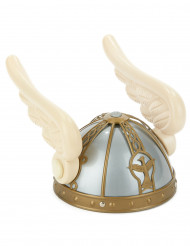 Casco vikingo con alas adulto