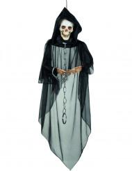 Decoración para colgar esquelto encadenado Halloween