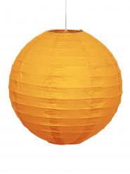 Farolillo naranja calabaza papel