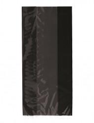 30 Bolsas regalo plástico negro Halloween 13x28 cm