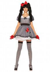 Disfraz muñeca mujer