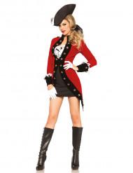 Disfraz pirata revolucinario mujer