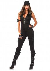 Disfraz SWAT sexy mujer - Premium