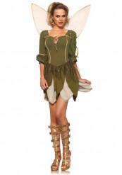 Disfraz hada del bosque mujer