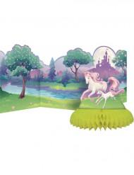 Centro de mesa unicornio mágico