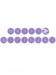 Guirnalda cumpleaños Unicornio mágico 2 m