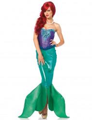 Disfraz de sirena real mujer - Premium