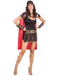 Disfraz gladiadora romana mujer