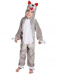 Disfraz de lobo niño