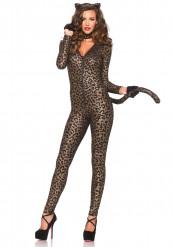 Disfraz de leopardo sexy mujer