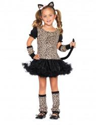 Disfraz leopardo niña
