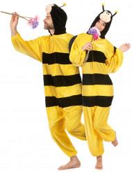 Disfraz de abeja con alas adulto