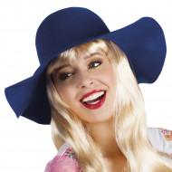 Sombrero estival azul oscuro mujer