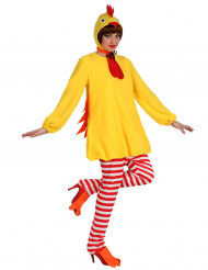 Disfraz gallina mujer