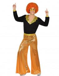 Disfraz disco naranja hombre