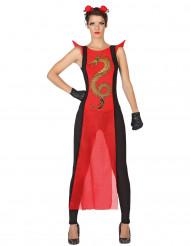 Disfraz samurai mujer