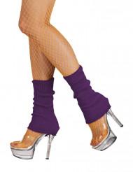 Calentadores violetas mujer