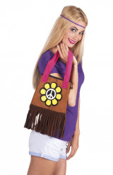 Bolso Hippie Flower Power