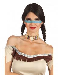 Collar indio para mujer