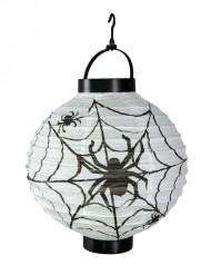Farolillo luminoso arañas 20 cm Halloween