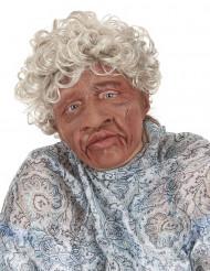 Máscara abuela látex boca articulada