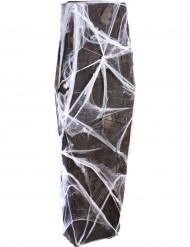 Ataúd con telaraña 160 cm Halloween