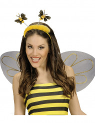 Diadema abeja con pelaje adulto