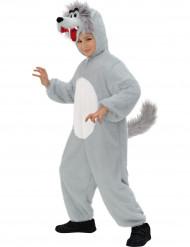 Disfraz lobo niño