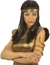 Brazalete serpiente egipcia mujer