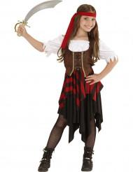 Disfraz de pirata niña de los océanos